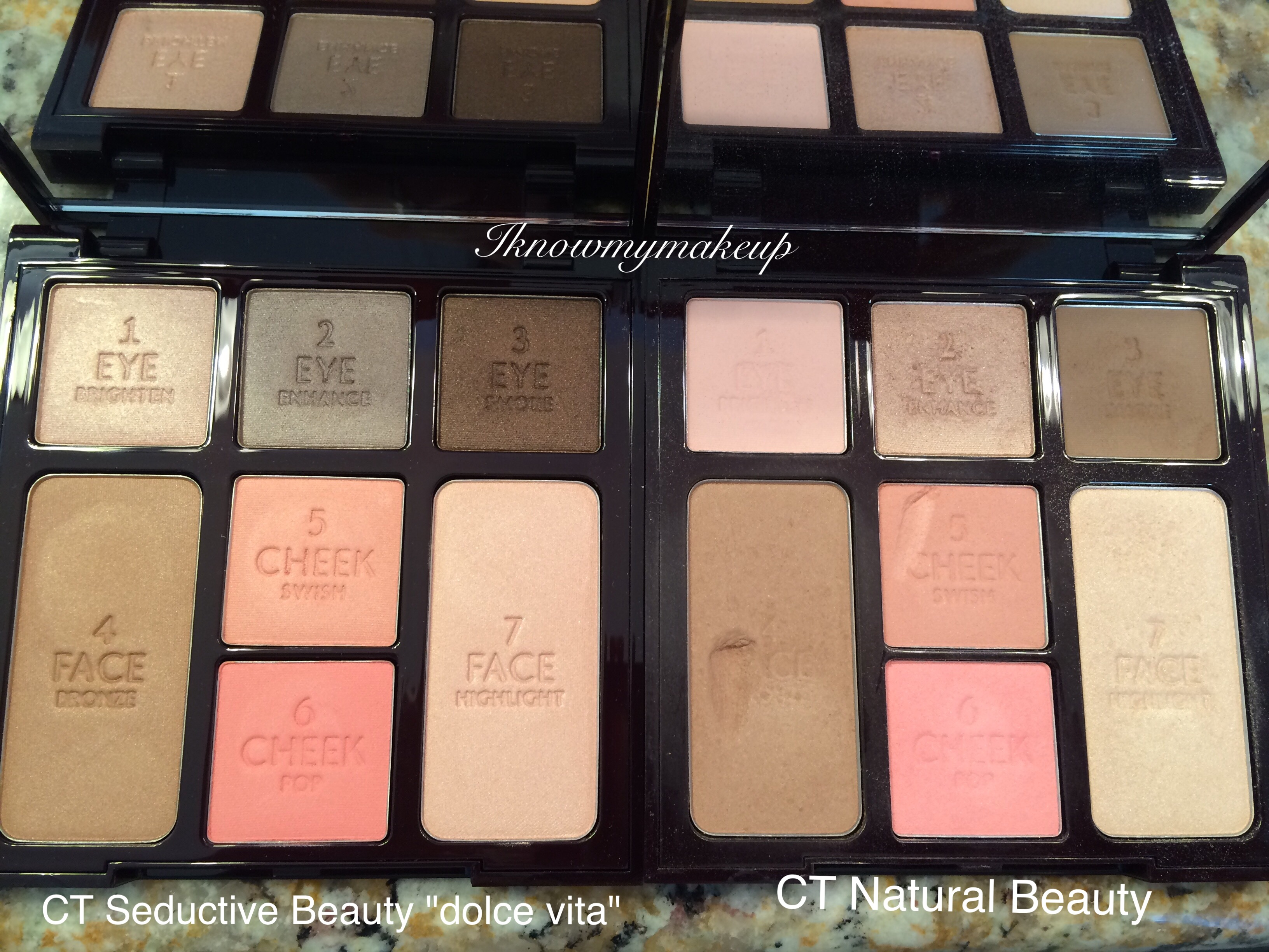 881a4b3ab51bf Charlotte Tilbury Natural Beauty Palette  Suited for more fair to light  complexions 3 COLOR CODED EYESHADOWS – 3 Shades to Brighten