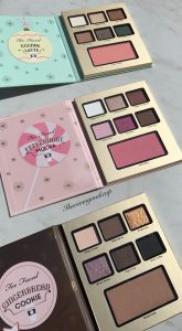 Too Faced Grand Hotel Cafe Holiday 2016 Palettes