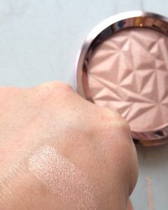 Becca Rose Quartz Swatch