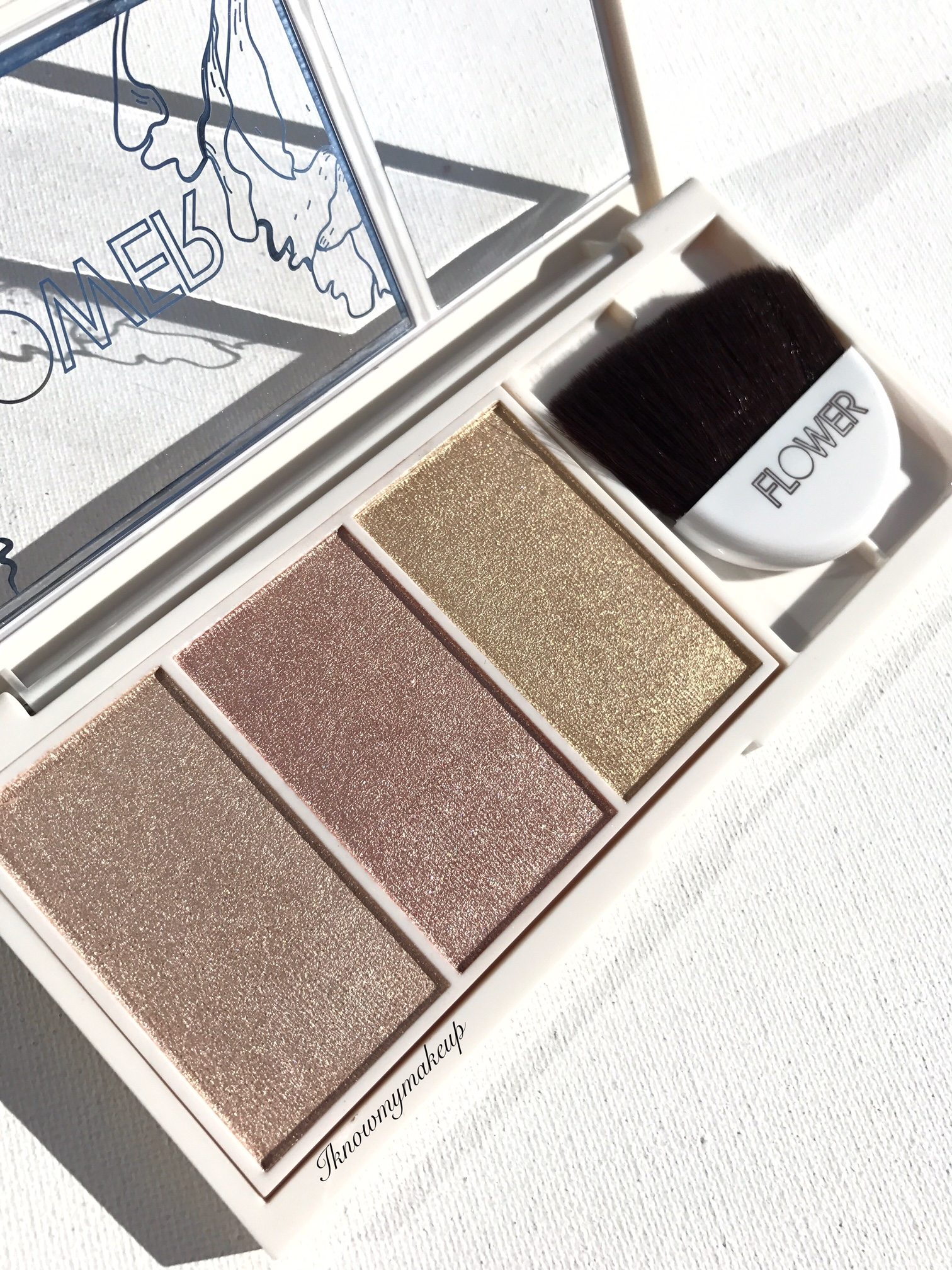 Flower Beauty Highlighting And Contour Palettes Spring 2017 I
