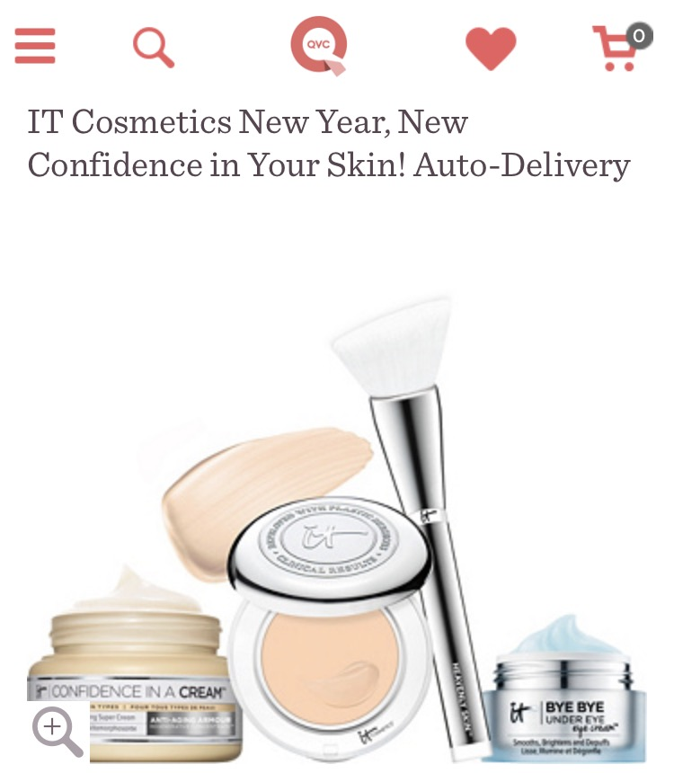 January 2017 Qvc It Cosmetics Tsv New Year New Confidence In Your