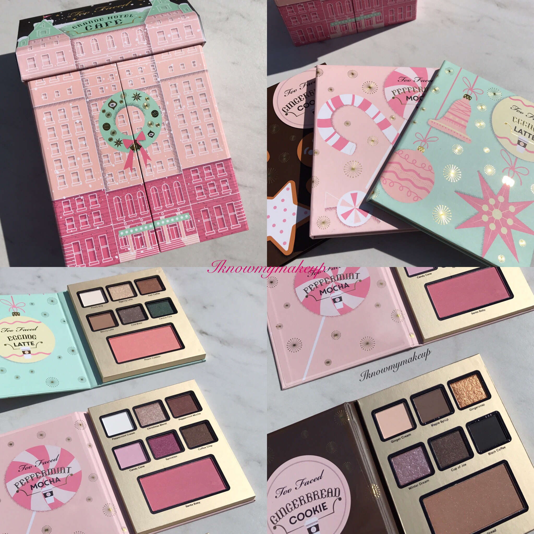 Too Faced Grand Hotel Cafe Holiday Set
