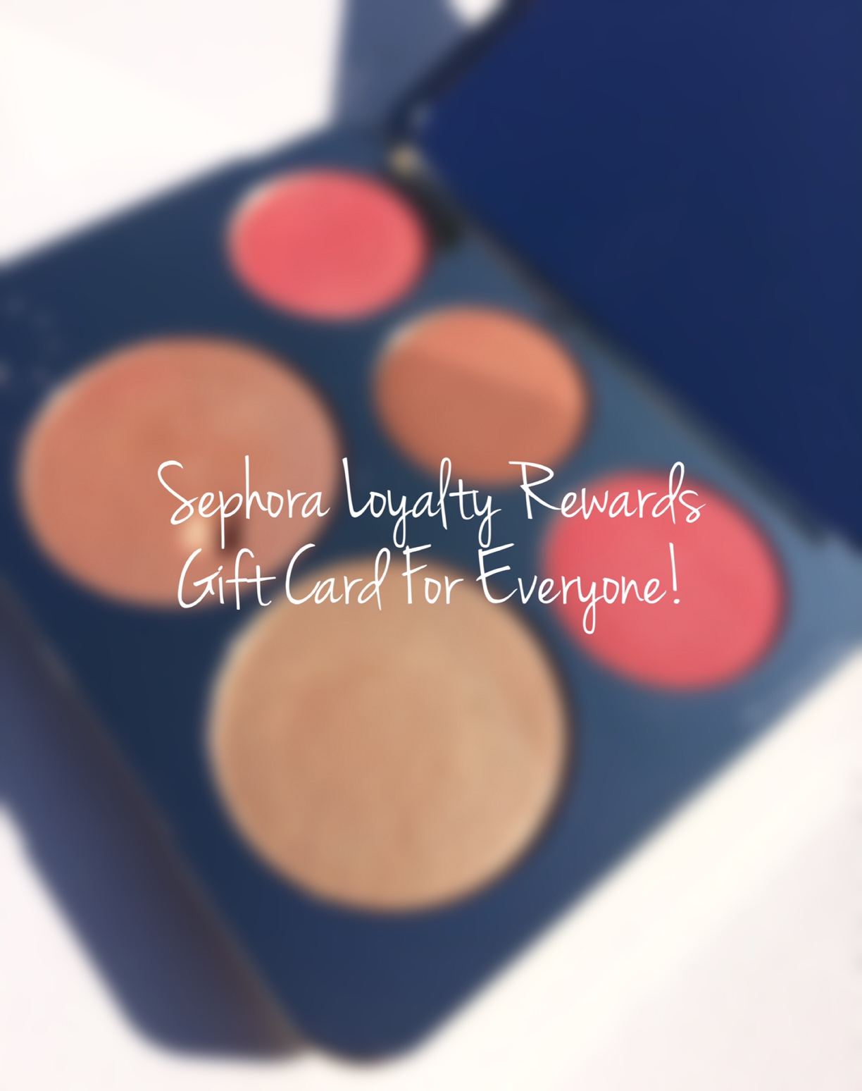 Sephora Loyalty Rewards Gift Card Coming Your Way I Know My Makeup